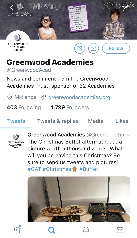 Greenwood Academies Twitter