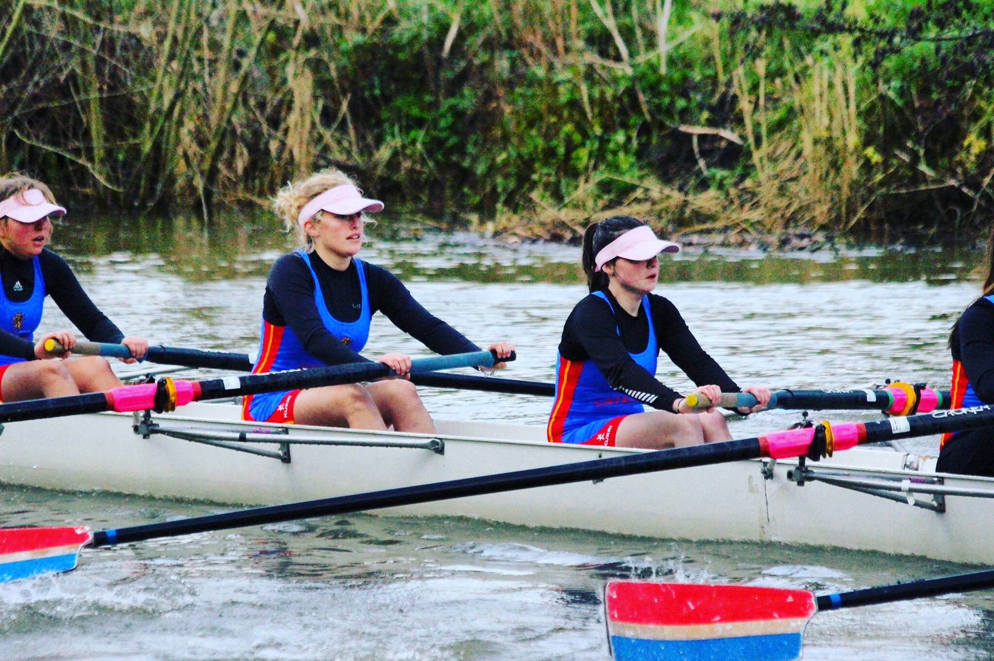 Naomi Linford, University of Birmingham Rowing Club