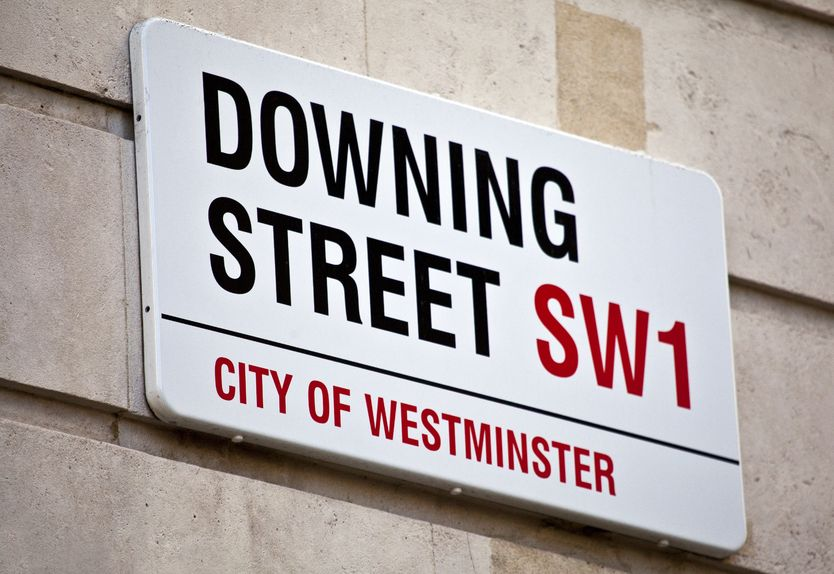 17522243 - downing street in london.