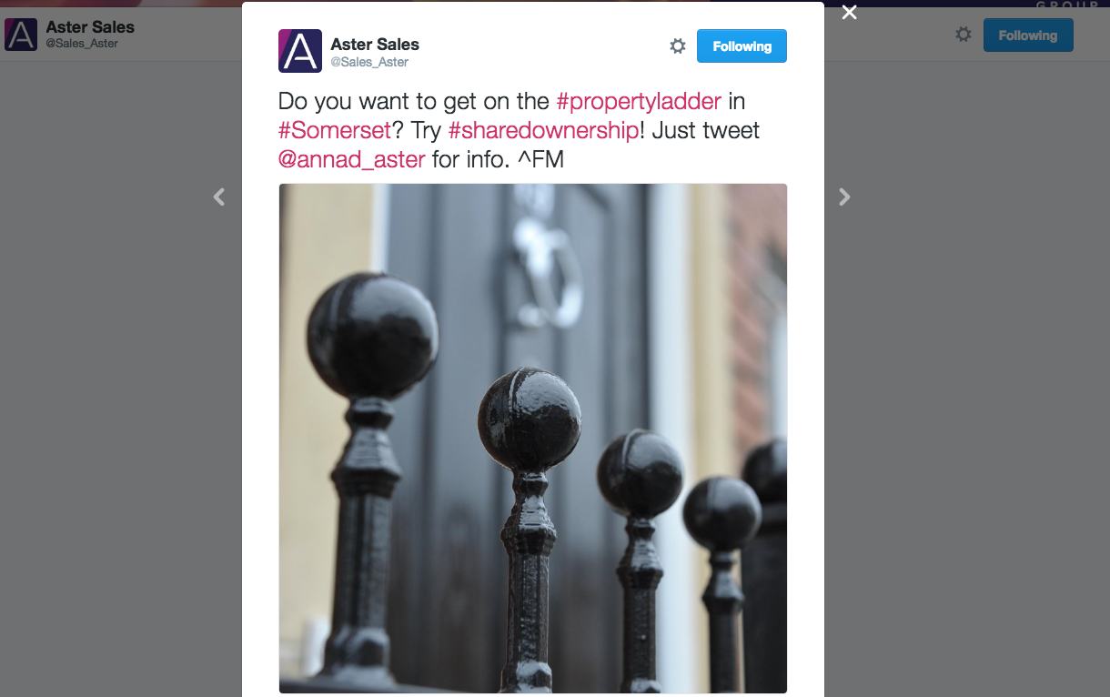 Aster Sales on Twitter   Do you want to get on the  propertyladder in  Somerset  Try  sharedownership  Just tweet  annad_aster for info.  FM https   t.co vvlk1AxFKA
