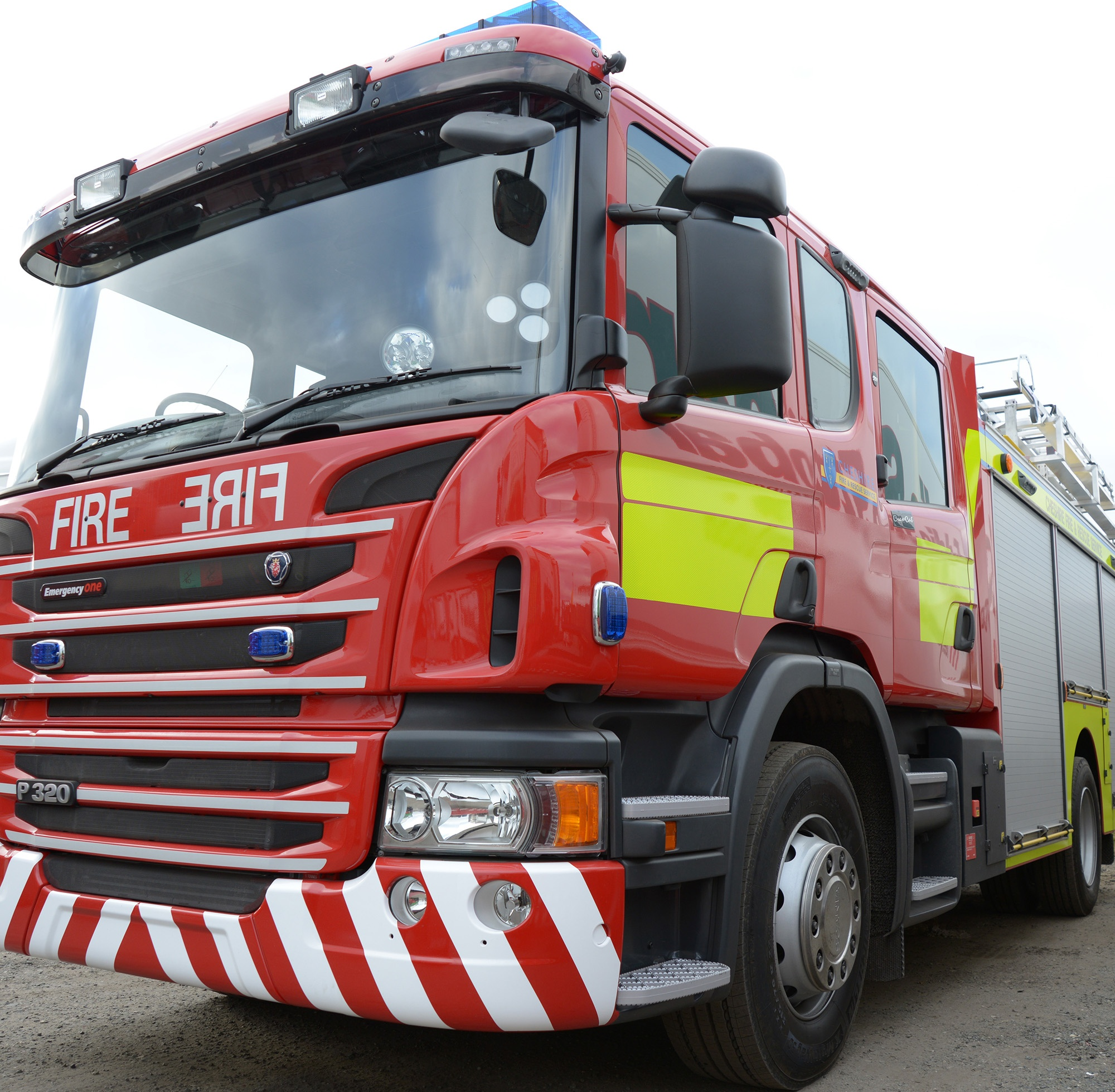 Cheshire Fire and Rescue Fire Engine (1)