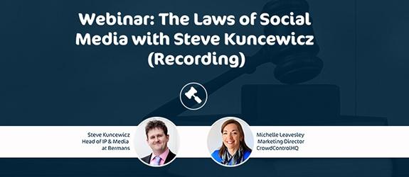 Social Media Law - Recording