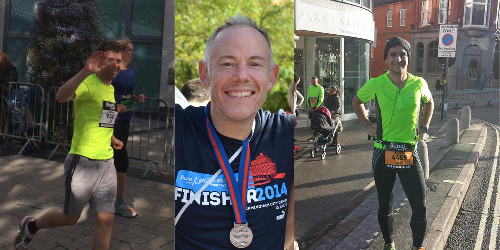 CrowdControlHQ Team run the Great Birmingham Run Bupa