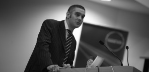 Public Relations Lecture with Andy Carter, Leeds City Council. Leeds Metropolitan University 19/10/09