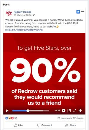 Redrow 5 star