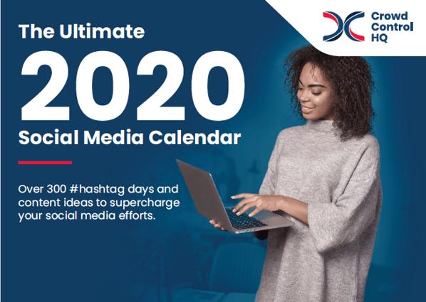 The Ultimate 2020 Social Media Calendar