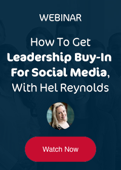 Watch the webinar - How to get leadership buy-in for social media