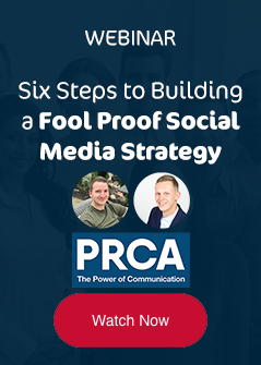 Watch now - Six steps to building a fool proof social media strategy